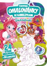 Shaped colouring books Enchantimals