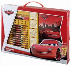 Stamps in box sets Cars