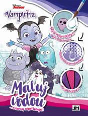 Water colouring A4 Vampirina