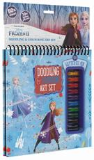 Colouring book w gel pens Frozen 2
