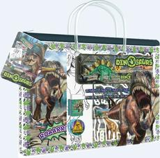 Fun stationery sets handbag Dinosaurs
