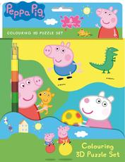 Colouring 3D puzzle set Peppa Pig