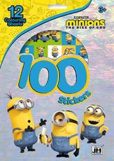 100 stickers holograph sets Minions