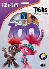 100 stickers holograph sets Trolls