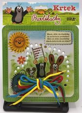 Lacing cards - small The Little Mole