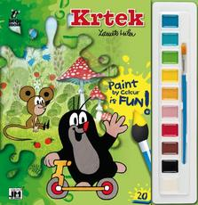 Poster paint book 285x295 The Little Mole