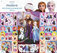 Scented stickers 500 pcs Frozen 2