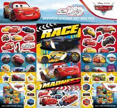 Scented stickers 500 pcs Cars