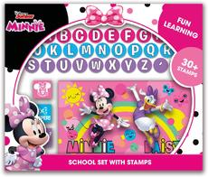 School set with stamps Minnie