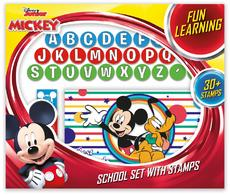 School set with stamps Mickey and the Roadster Racers