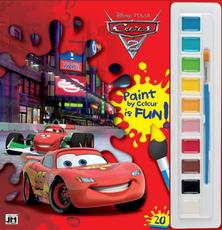 Poster paint books 285x295 Cars