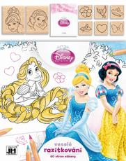 Colouring books with stamps Disney Princess