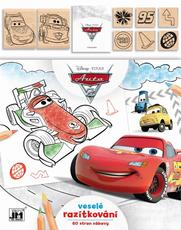 Colouring books with stamps Cars