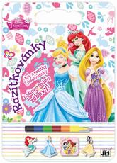 Colouring pads with stamps Disney Princess