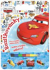 Colouring pads with stamps Cars