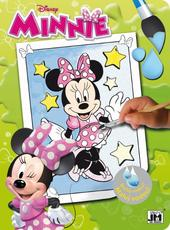 Paint with water color. books Minnie