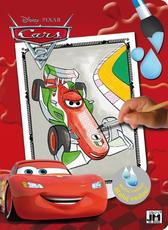 Paint with water color. books Cars