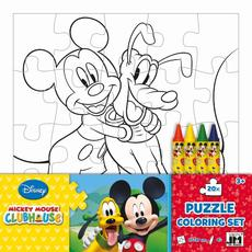 Colouring puzzle sets Mickey Mouse Clubhouse