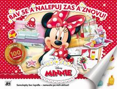 Reusable sticker album Minnie
