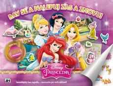 Reusable sticker album Disney Princess