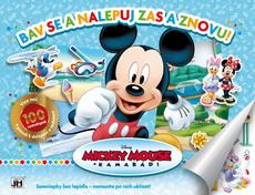 Reusable sticker album Mickey Mouse Clubhouse