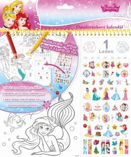 Col. desk calendars Disney Princess