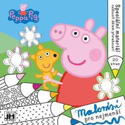 Bumpy lines colouring books Peppa Pig