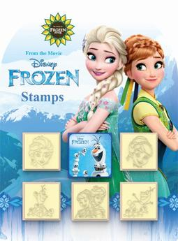 Stamps 5+1 sets Frozen