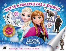 Reusable sticker album Frozen