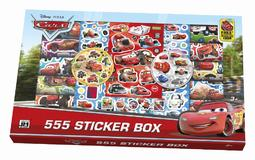 555 sticker boxes Cars