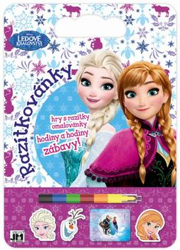 Colouring pads with stamps Frozen
