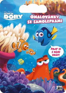 Colouring pads with stickers Finding Dory