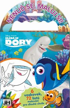 Travel colouring books Finding Dory