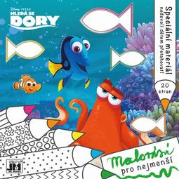 Bumpy lines colouring books Finding Dory