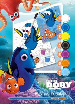 Paint.by number 210×297 Finding Dory