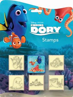 Stamps 5+1 sets Finding Dory