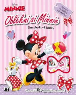 Dress-up sticker books Minnie