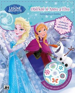 Dress-up sticker books Frozen