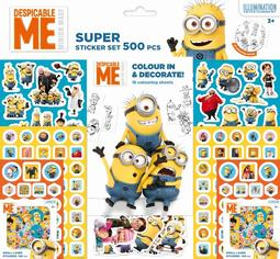 Super sticker sets 500 pcs Minions