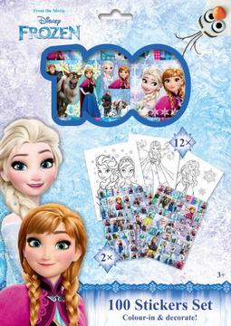 100 stickers holograph sets Frozen