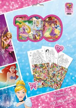 100 stickers holograph sets Disney Princess