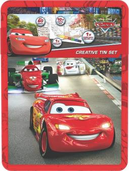 Creative tin sets Cars