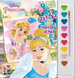 Poster paint books 285x295 Disney Princess