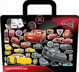 Puffy sticker bags Cars