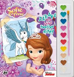 Poster paint books 285x295 Sofia the First