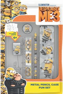 Fun packs with pencil case Minions