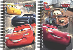 Lenticular Notebooks Cars