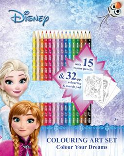 Art Sets - Colour Pencils Frozen