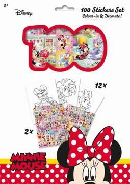 100 stickers holograph sets Minnie