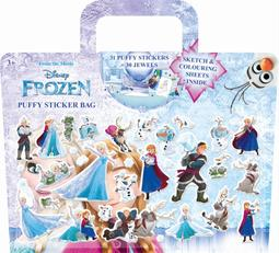 Puffy sticker bags Frozen